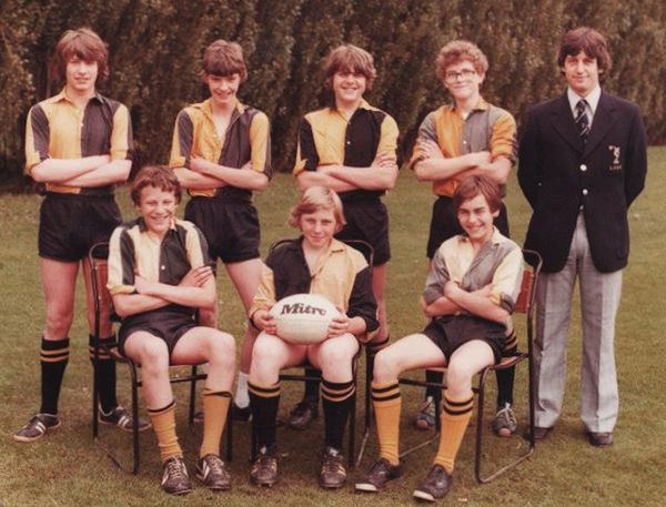 Boston Grammar School Rgby Team 1979