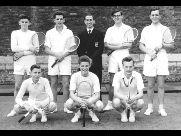 Boston Grammar School Tennis Team 1956-57