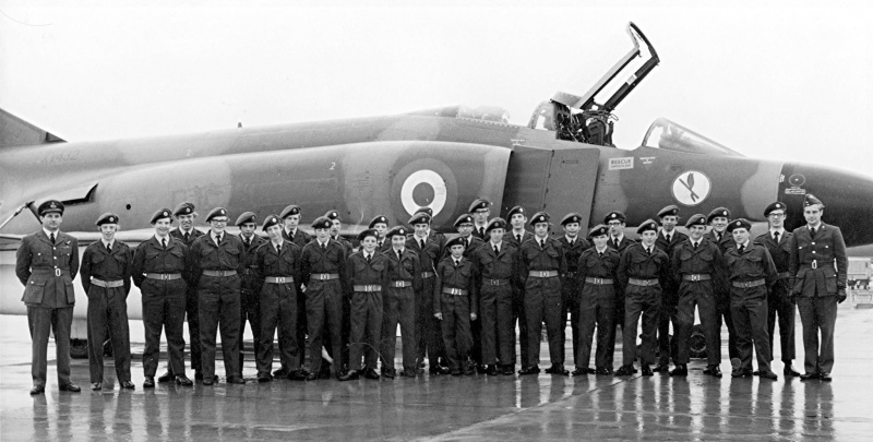 CCF RAF Section 1970 at RAF Coningsby