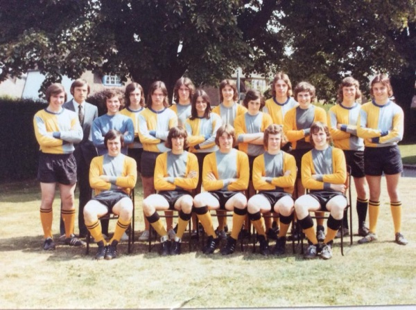 Boston Grammar School Football Team 1975