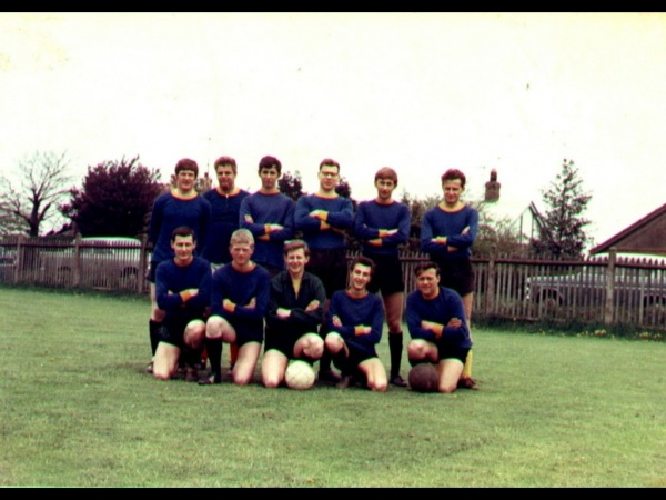 Old Bostonians Reserves Football Team c1968